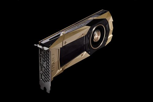 NVIDIA Introduces Titan V For Machine Learning Acceleration On The PC