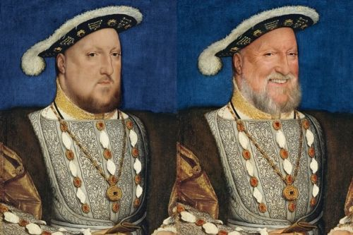 26 famous artworks re-imagined with smiles and old age filters