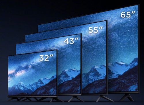 Xiaomi presents four new E-series TVs in China with screens from 32 to 65 inches