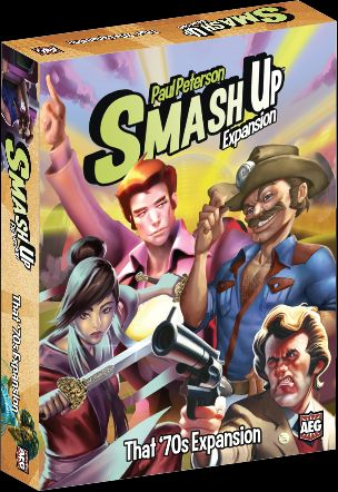 That 70s Expansion Now Available For Smash Up