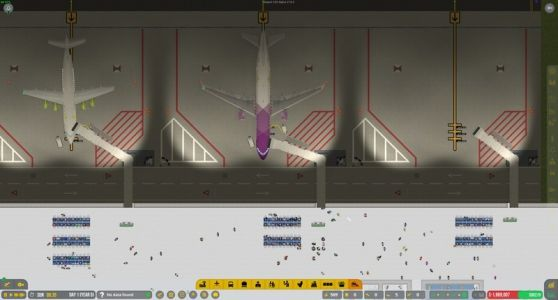 Tycoon PC game Airport CEO shows piles of potential