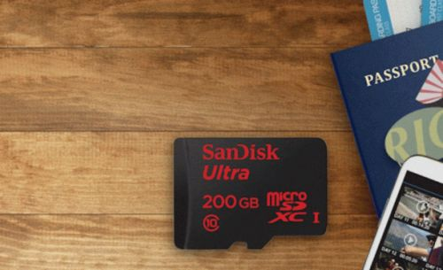 Ultra-fast 200GB SanDisk microSD cards are back down to $48 on Amazon