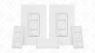 Turn Any Lights Into Smart Lights With $40 Off This Lutron Dimmer Switch Combo
