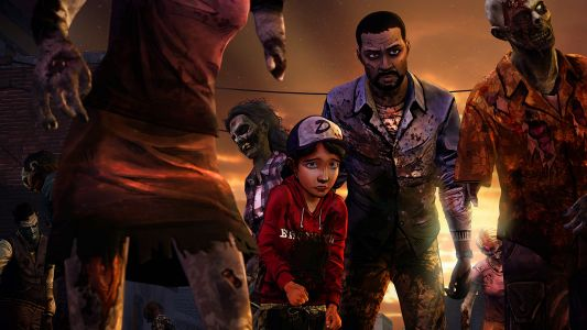 'The Walking Dead' season one is out on the Switch