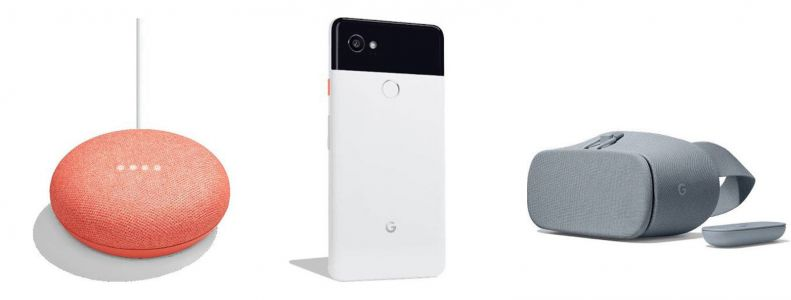 Google's mini Home speaker and Pixel 2 XL leak ahead of October event