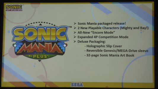 Sonic Mania Plus Announced, Physical Release And New Characters