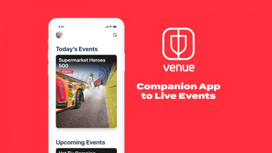 Facebook takes on Twitter with 'Venue', an app for live events