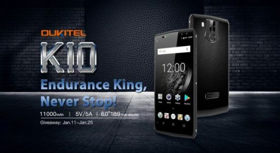 Full specs for Oukitel K10 confirmed + giveaway