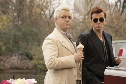 At heart, Amazon's Good Omens is a gay cosmic rom-com