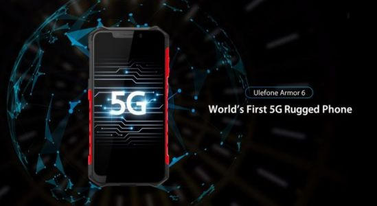Ulefone Armor 6 will be the world's first 5G rugged phone