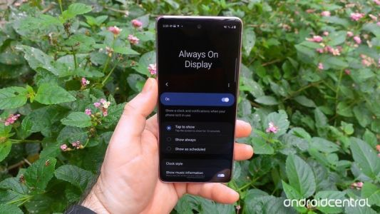 How to customize your Samsung phone's Always-On Display
