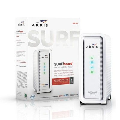 This Arris Surfboard is one of the best cable modems around and it's only $54 right now