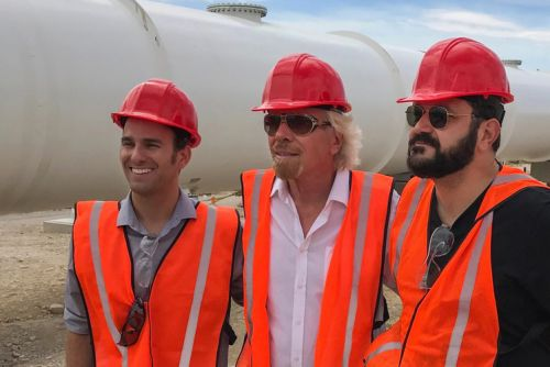 Hyperloop One is now called Virgin Hyperloop One, thanks to Richard Branson investment