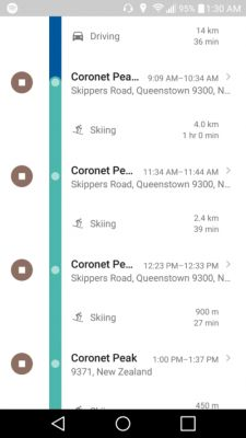 Google Maps Can Now Recognize Skiing As Means Of Transport