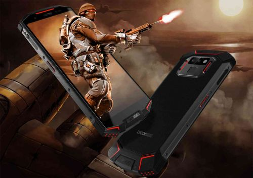 Doogee S70 is the newest Android gaming phone, comes with 5500mAh battery
