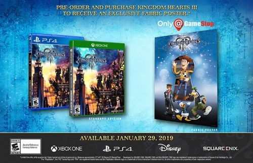 Kingdom Hearts 3 Release Date And US Pre-Order Guide
