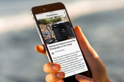Like Tinder for news, Lumi uses swipes to learn what you want to read