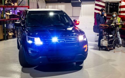 Ford roasts away COVID-19 in Police SUV mod