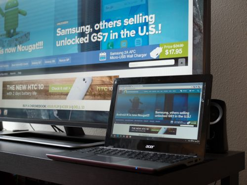 Best External Monitors for your Chromebook