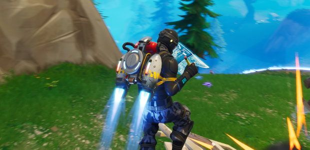 Fortnite Battle Royale takes to the skies with jetpacks