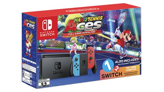 Daily Deals: Preorder Nintendo Switch Mario Tennis Aces Bundle, Wireless Headphones, Gaming Desktops