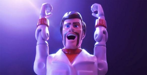 Keanu Reeves Is 'Canada's Greatest Stuntman' in New 'Toy Story 4' Trailer