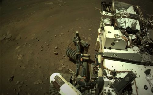 Perseverance Rover in Mars Updates NASA With a New Photo of the Red Planet