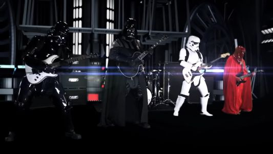 Heavy Metal Band GALACTIC EMPIRE Rocks Hard in Covers of The Imperial March and March Of The Resistance