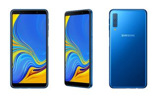 Samsung's mid-range Galaxy A7 official with triple-lens camera