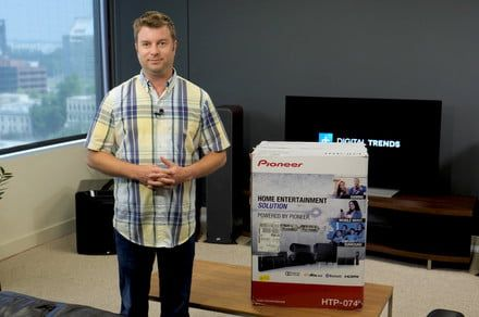 Pioneer HTP-074 HTIB unboxing and setup guide: Boost your audio experience
