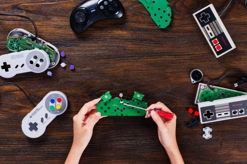 Make your classic gamepads wireless with 8BitDo's DIY kits