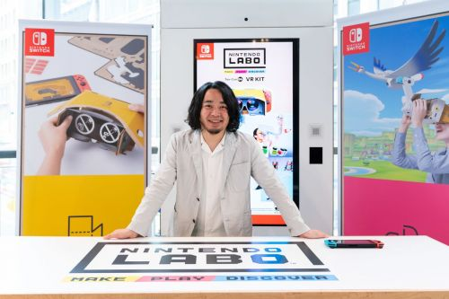 Nintendo Labo director says VR was part of the plan from the beginning