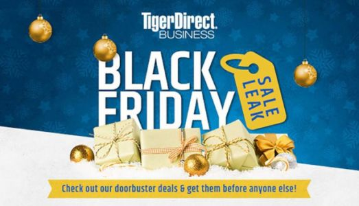 TigerDirect Black Friday 2017: Huge savings on computers, consoles, tablets and more