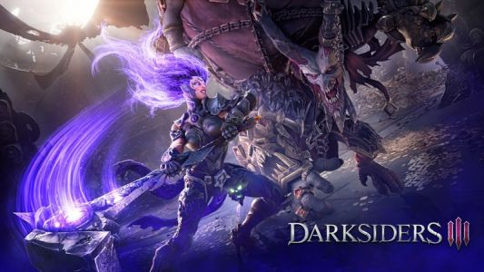 Play as one of the four horsemen in Darksiders 3 for PlayStation 4