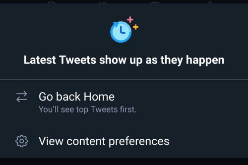 Twitter brings the reverse-chronological feed to Android
