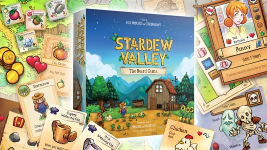 STARDEW VALLEY Now Has a Board Game