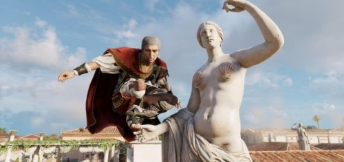 Assassin's Creed Origins' Discovery Tour censors all the nudey statues