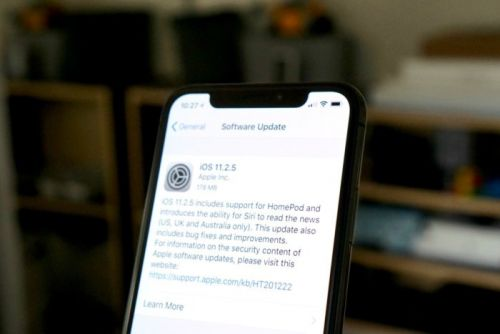 Apple releases iOS 11.2.5 with HomePod support, Siri News, and bug fixes