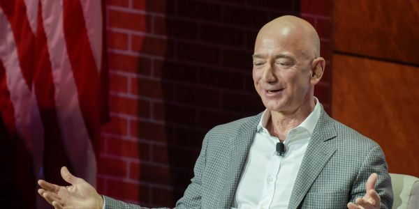 Amazon CEO Jeff Bezos is the richest man in recent history with a net worth of $150 billion, beating Bill Gates' record