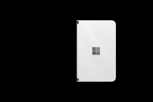 Leaked video reveals new Surface Duo 'peek' feature