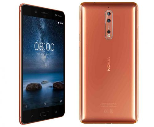 Nokia 8 receiving Android 8.1 Oreo update