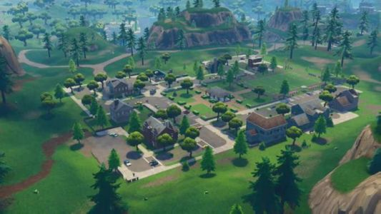 An ominous blemish has appeared in Fortnite's Pleasant Park