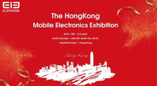 Elephone at Global Sources Mobile Electronics Exhibition until April 21st
