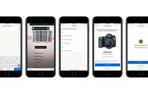 EBay now lets sellers autofill listings by scanning product barcodes