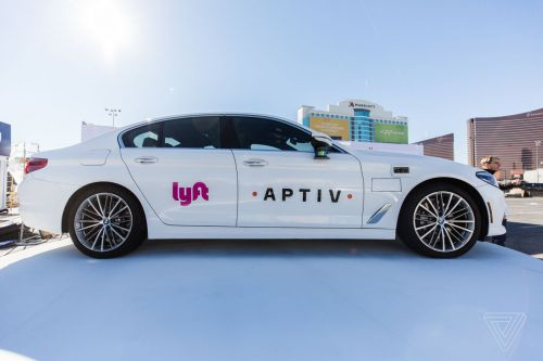 Lyft and Aptiv extend their self-driving taxi pilot in Las Vegas
