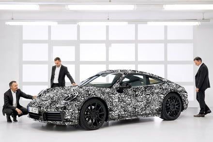 Porsche knows not to mess with the 911, but also knows how to weave in progress