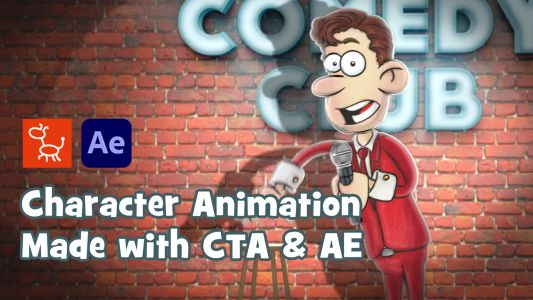 Incredible 2D Character Animation for Adobe After Effects