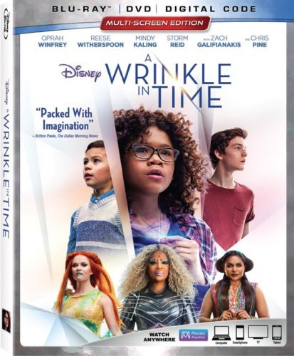 'A Wrinkle in Time' 4K UHD, Blu-ray, DVD and Digital Release Dates and Details
