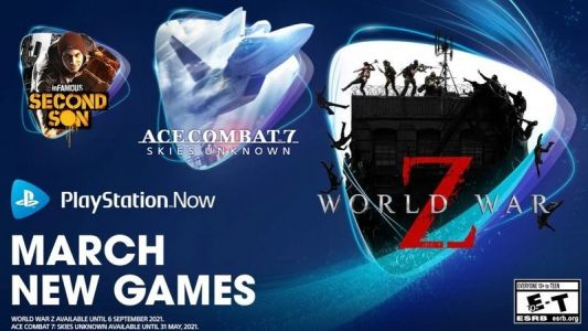 PS Now subscribers can nab World War Z and Infamous Second Son in March