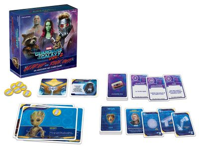 USAopoly Announces Guardians of the Galaxy Vol. 2 - Gear Up and Rock Out! Card Game